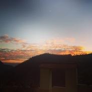 New Year's Day sunrise.